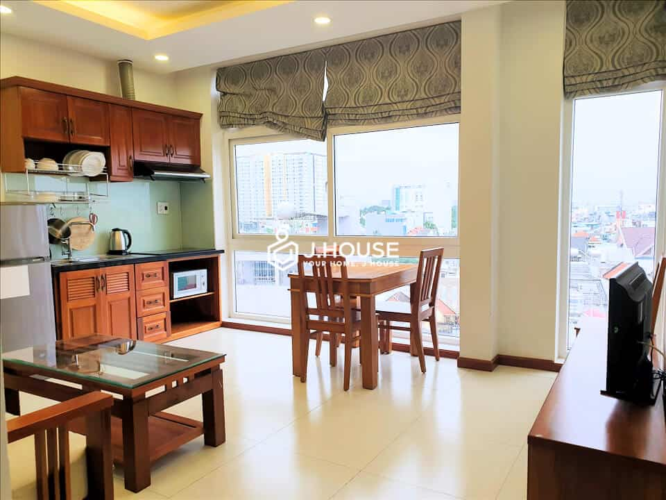 Serviced apartment 2 bedrooms near airport Tan Binh District