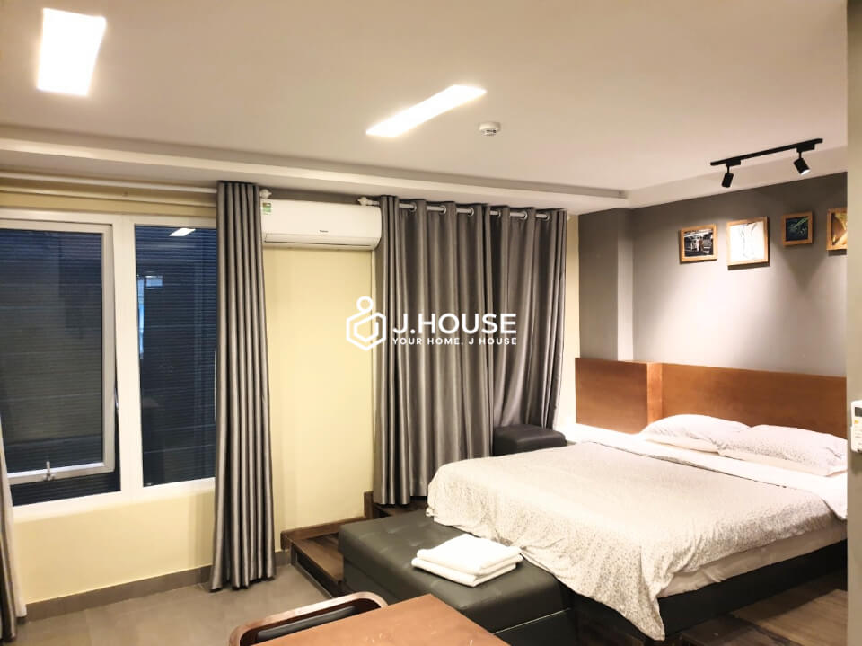 #G01- Studio in ground floor, fully furnished, quiet and safe