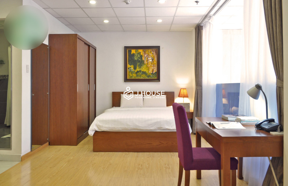 Japanese style serviced apartment in district 1