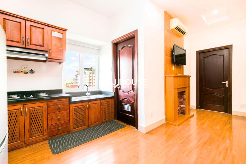 Spacious European style serviced apartment in Thao Dien