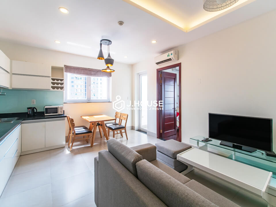 New and modern 1 bedroom apartment in Thao Dien area