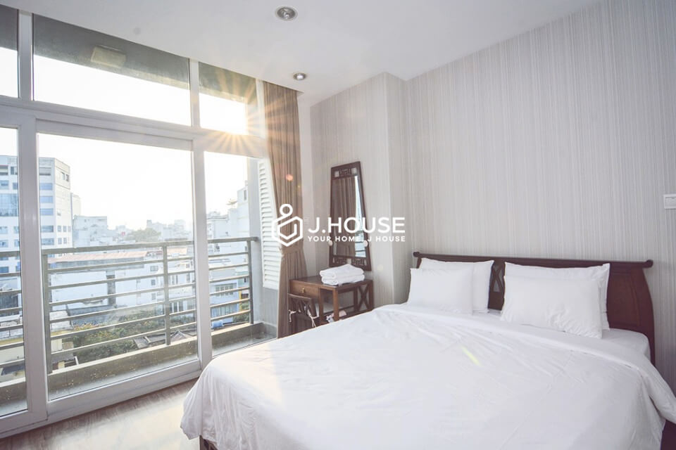 Nice separate bedroom at Ben Thanh Tower District 1