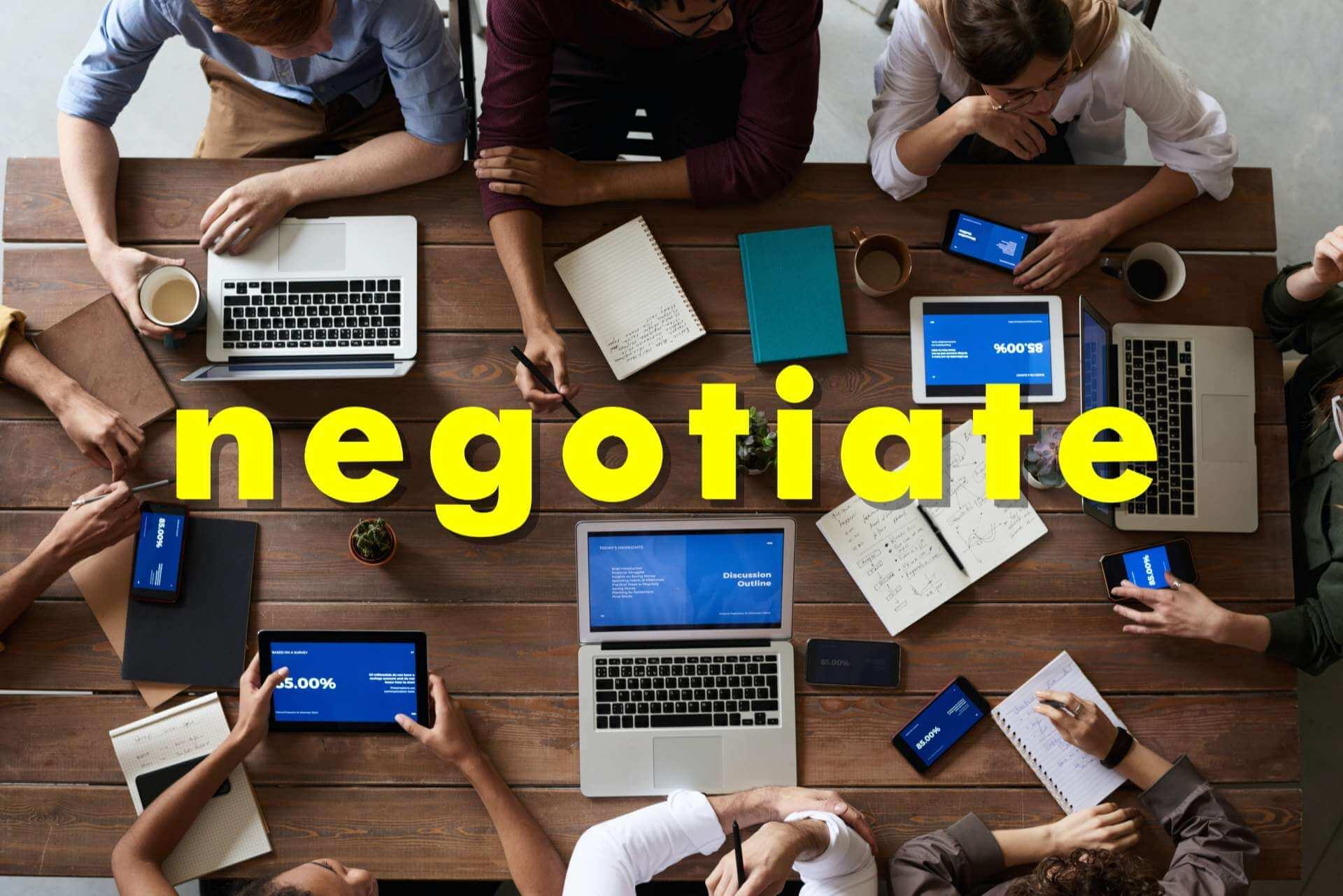Negotiate rent price