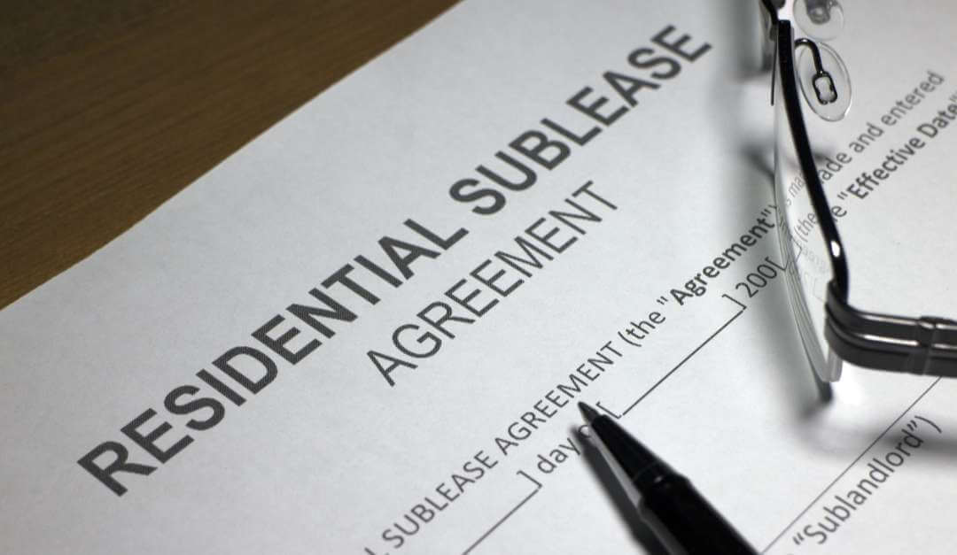 residential-sublease-agreement