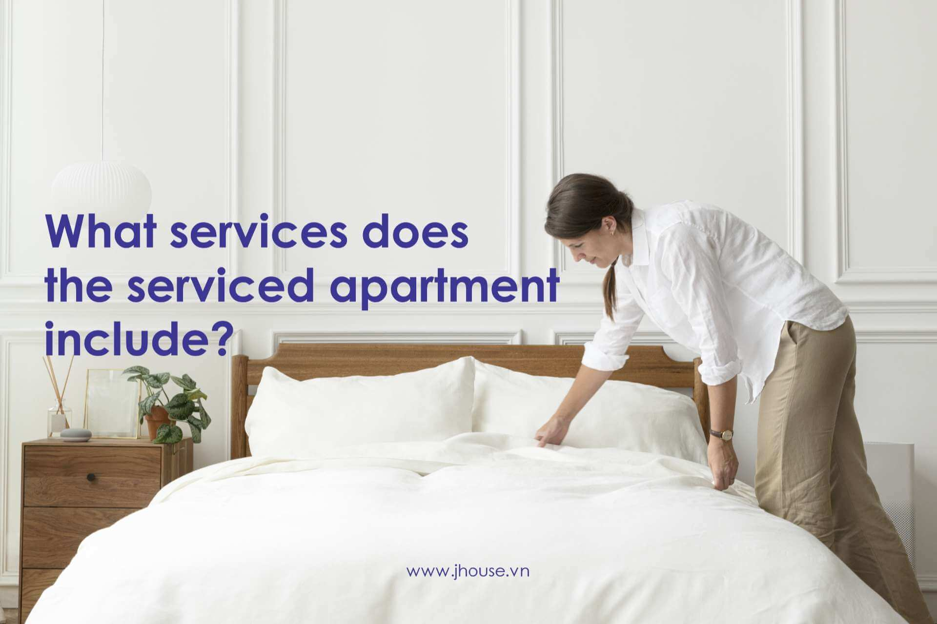 What-services-does-the-serviced-apartment-include