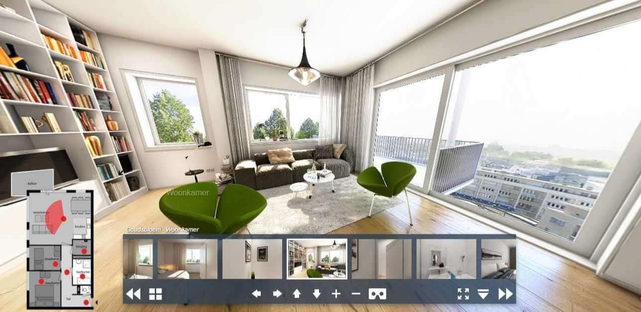 Renting an apartment during covid-19-Visiting virtual apartment