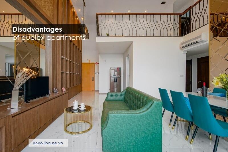 disadvantages-of-duplex-apartments